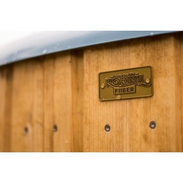 Hot tub cabinet (thermo-wood)