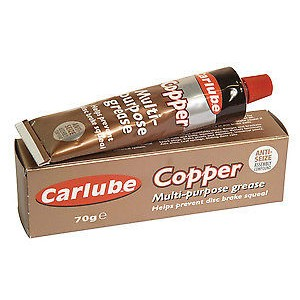 Carlube copper grease (for heater door hinges)