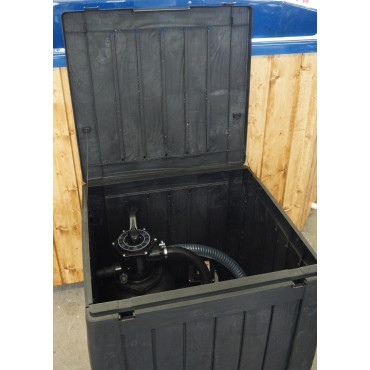 Cabinet for filter system(for summer use)